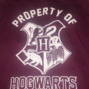 Harry Potter Hogwarts Hooded Tee